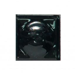 PF13 Вставка декор черная пуговица для плитки ромбом