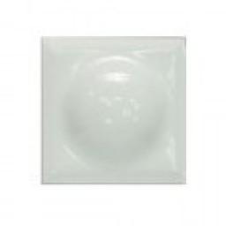 PF11 Вставка декор белая пуговица для плитки ромбом