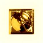 PF08 Вставка декор золото для плитки ромбом
